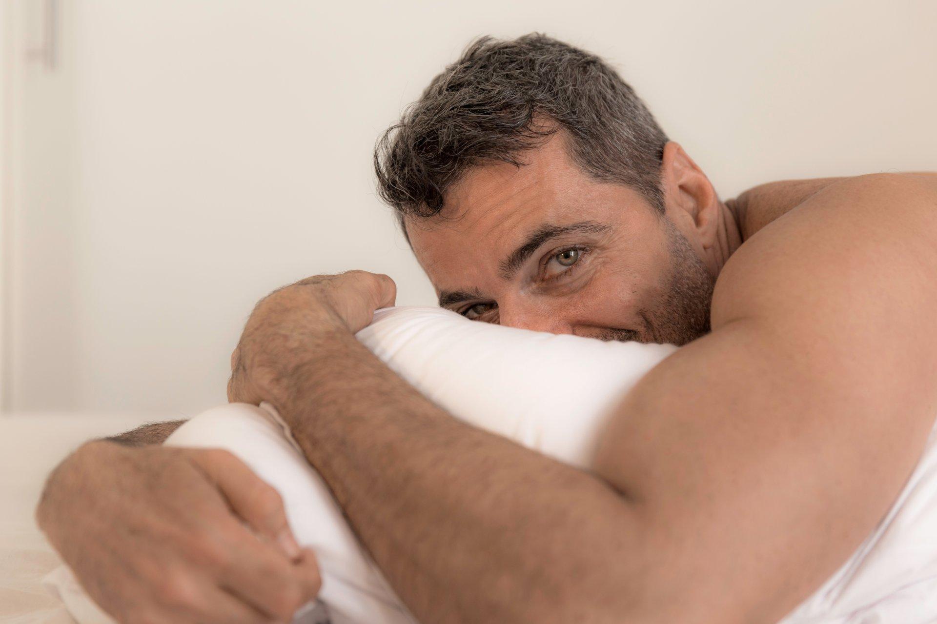 vyresnių nei 54 metų vyrų erekcija