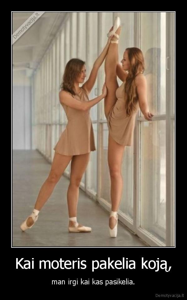 erekcija baleto metu efektyvus ir saugus nario padidinimo metodas