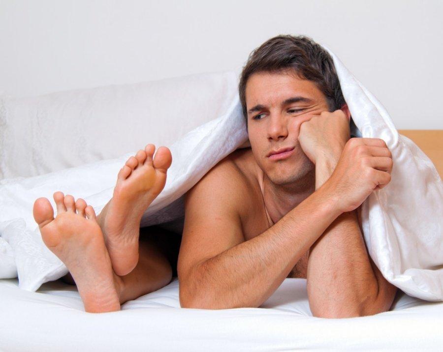erekcija dingsta keičiant laikyseną varpos padidinimo operacija